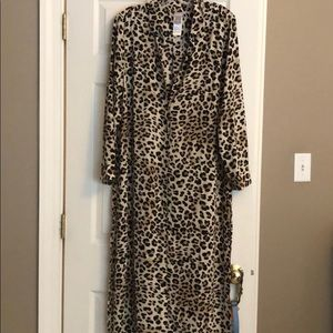Chico's long blouse or coverup